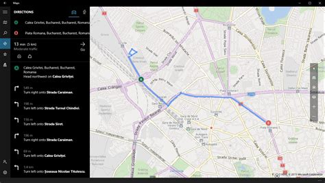 big maps windows 10 and maps app giving directions