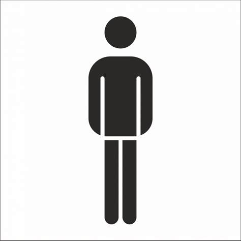 sticker dames heren toilet heren toilet stickers voor binnen en buiten met achtergrond
