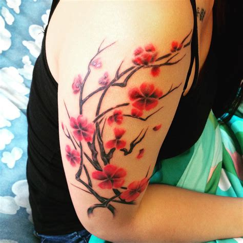 sakura tattoo design 75 best japanese cherry blossom designs