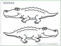 crocodile printable templates amp coloring pages