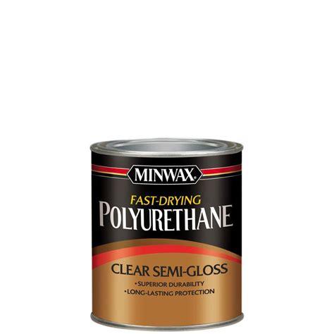 minwax 1 qt semi gloss fast drying polyurethane 63005