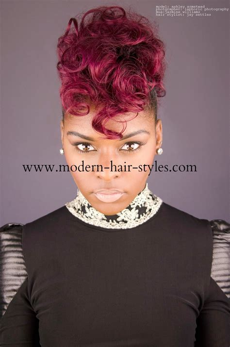 black women hair styles  bobs pixies  piece weaves