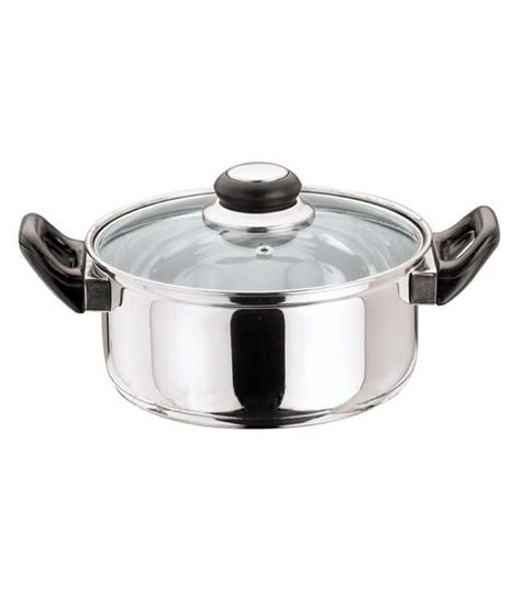 kitchen essentials induction kitchen essentials induction friendly with glass lid 18 cm pot oven 1 buy