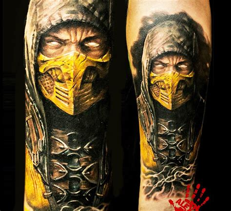 mortal kombat tattoo by aleksandr noir