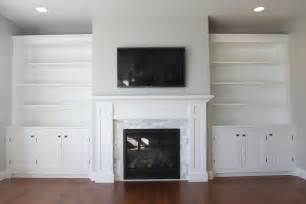 Fireplace Mantel Bookshelves by How To Build A Built In Part 3 Of 3 The Bookshelves