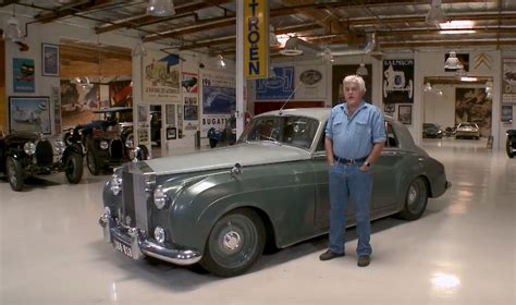 roll royce garage sleeper 1958 rolls royce silver cloud stops by leno s garage
