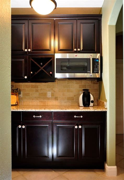 built in coffee bar pin by hudick on kitchen