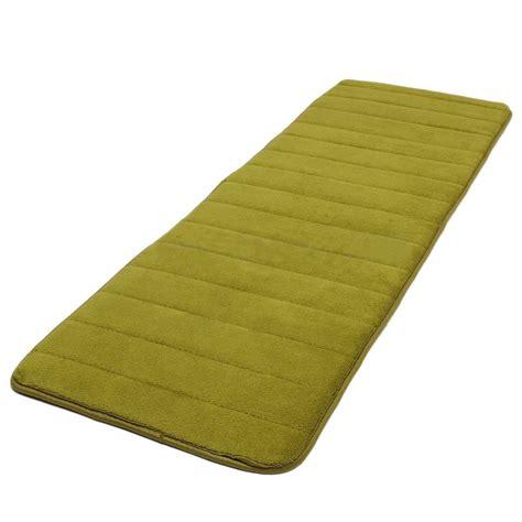 foam rugs for 120x40cm absorbent nonslip memory foam bedroom door floor mat rug carpet f6 ebay