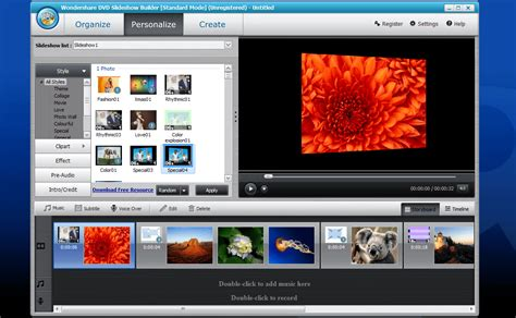 best slideshow software best free photo slideshow software for windows
