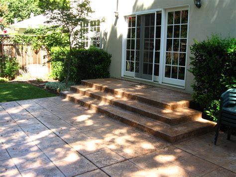 poured concrete patio poured concrete patio design ideas hear what our clients