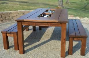 Patio Table Plans Free by Diy Patio Table Plans Pdf Woodworking