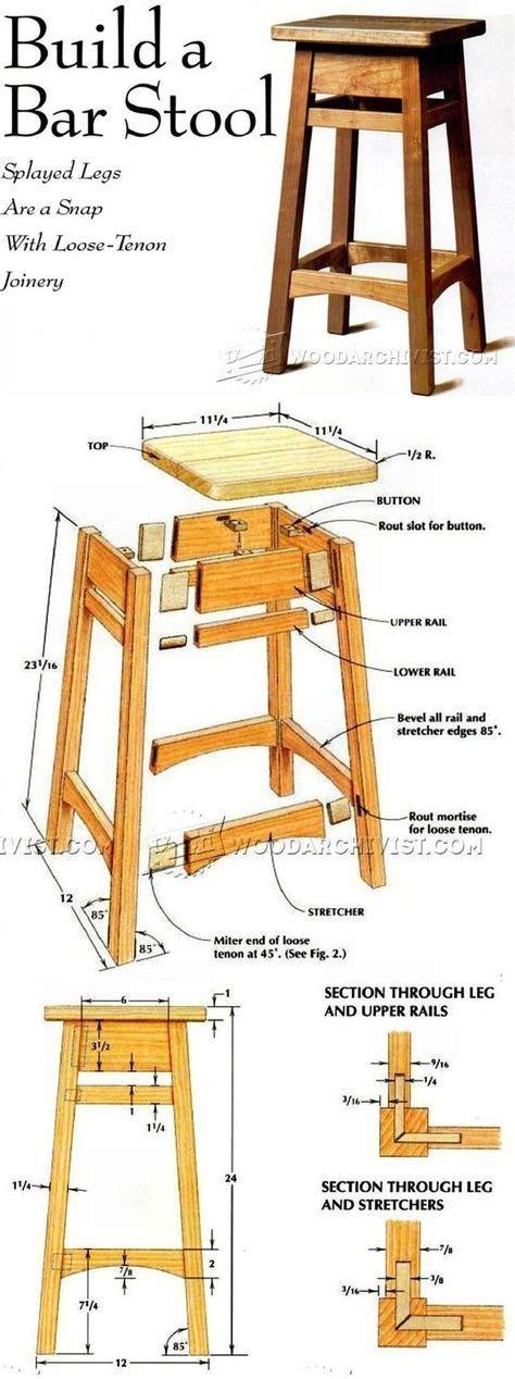 wooden bar stool plans 25 best ideas about industrial bar stools on pinterest
