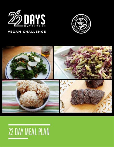 22 days vegan challenge recipe book1