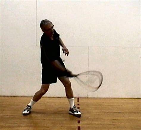 racquetball swing stroke tutorial 2005