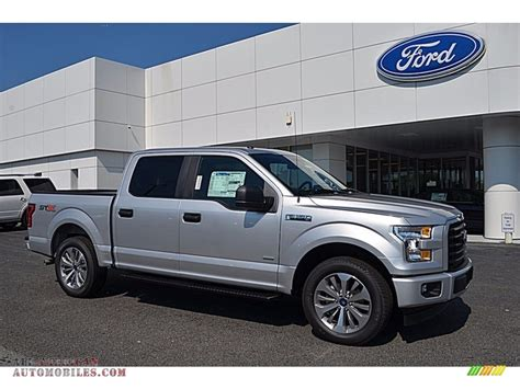Ford F150 Xl by 2017 Ford F150 Xl Supercrew In Ingot Silver C11490 All