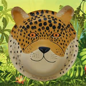 How To Make A Jaguar Cheetah Jaguar And Leopard Mask Craft Tutorial