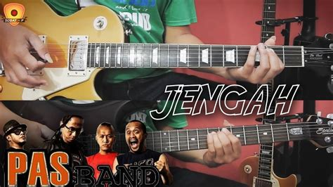 Tutorial Gitar Pas Band Jengah | tutorial gitar melodi pas band jengah by sobat p slow