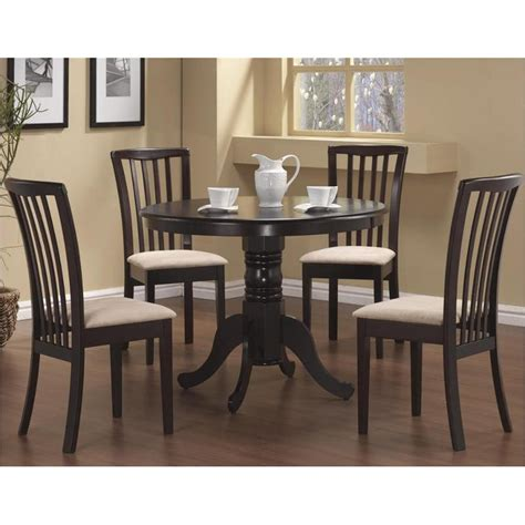 cappuccino dining room furniture 101081b1 coaster furniture brannan cappuccino dining