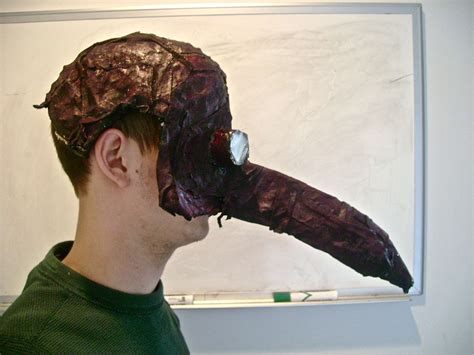 hand made plague mask examples plague masks