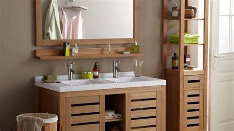 meuble salle de bain zen pas cher