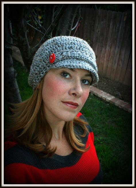 free pattern newsboy hat 17 best images about ladies crochet on pinterest free