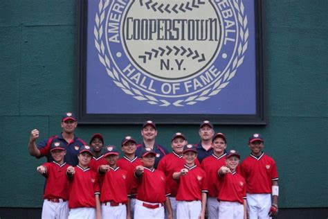 Backyard Baseball Cooperstown Cooperstown Baseball Classic Tournaments Youth