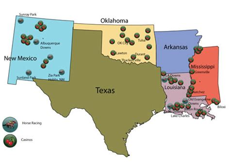 texas casinos map bet in texas