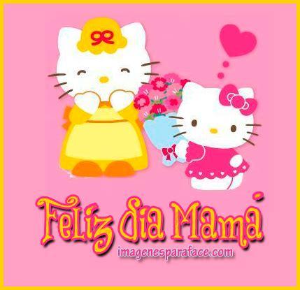imagenes de feliz dia niño hello kitty im 225 genes de hello kitty para el d 237 a de la madre
