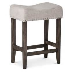 24 Saddle Bar Stools Rumford Linen Saddle 24 Quot Counter Stool Threshold Target
