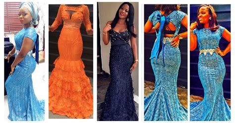 latest ashoebi lace styles 11 amazing latest aso ebi styles lace inspired lookbook 2