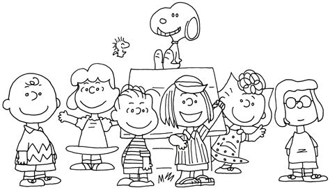 charlie brown and snoopy peanuts coloring page coloring home