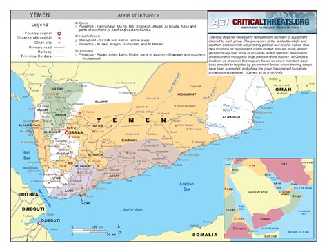 map of yemen al qaeda map in yemen yemen sana039a mappery