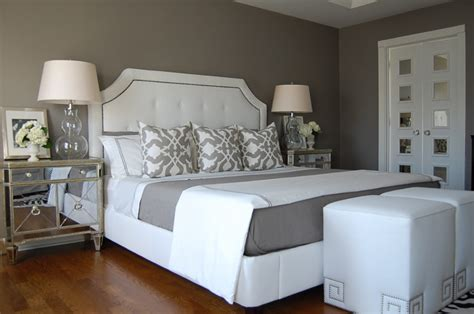 Grey Bedroom On A Budget Gray Bedroom Contemporary Bedroom Benjamin