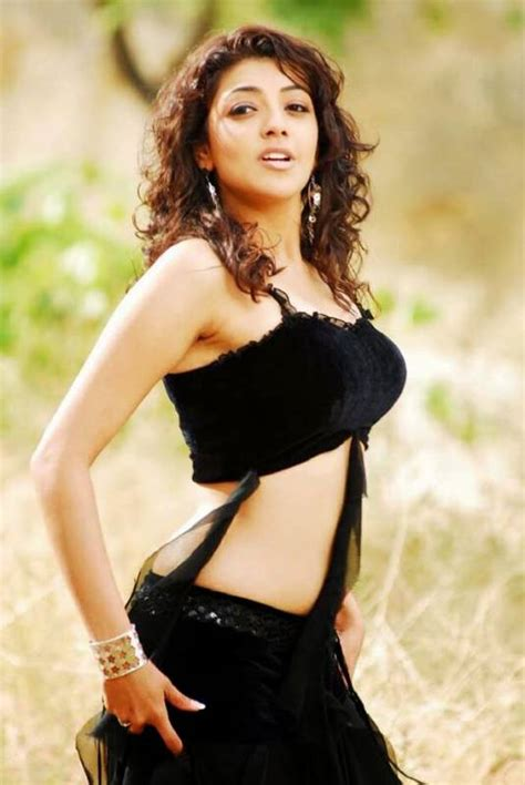 actress kajal in bad dress in saree breast kajal agarwal hot in black bikini kajal aggarwal