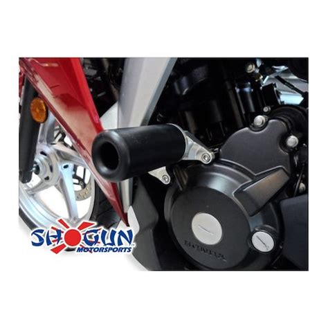 Frame Slider Bikers Gold 250 Fi 2016 shogun frame sliders honda cbr250r 2011 2014 revzilla