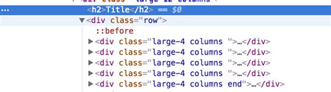 div php css adding end foundation class to div in php loop isn