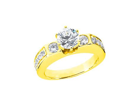 Wedding Ring Kl by 1 00ct Cut Bridal Engagement Ring