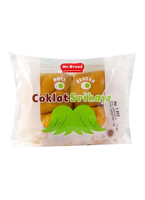Mr Bread Roti Manis Kasur Coklat mr bread roti manis pandan coklat srikaya pck klikindomaret