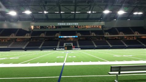 at the the ford center at the gives cowboys room to grow