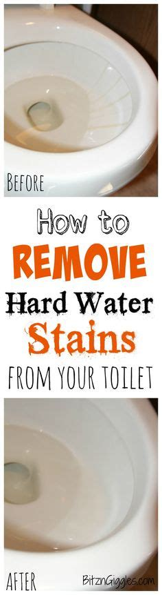 how to clean bathroom without chemicals clean toilet bowl on pinterest clean toilet stains