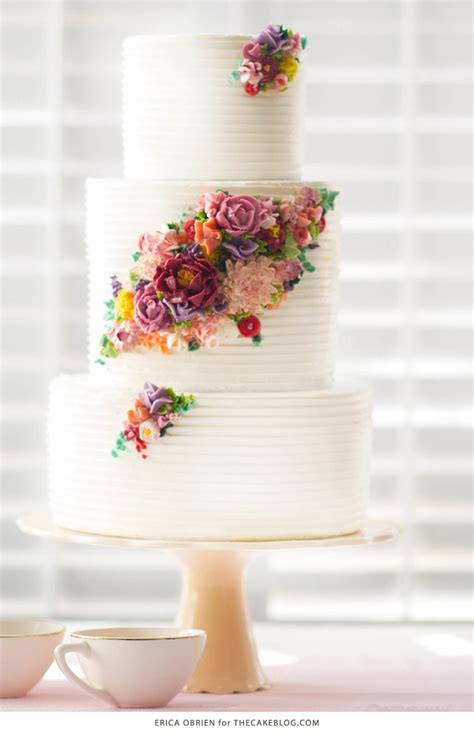 Wedding Cakes Designs 2015 by 2015 Wedding Cake Trends Buttercream Flower Cake