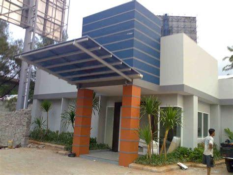 bentuk kanopi gantung rumah minimalis eksterior rumah