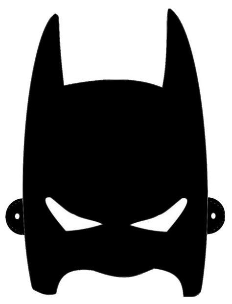 Childrens Batman Mask Template
