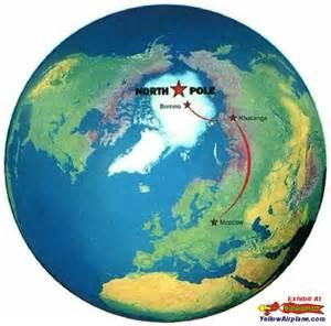 Map Of The World North Pole by North Pole World Mundo Wereld Pinterest North