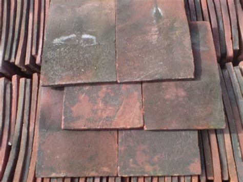 Handmade Clay Roof Tiles - reclaimed handmade clay roof tiles 11 x 7 quot jj reclamation