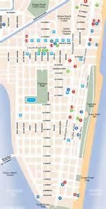 Miami South Beach Map by South Beach Map South Beach Magazine