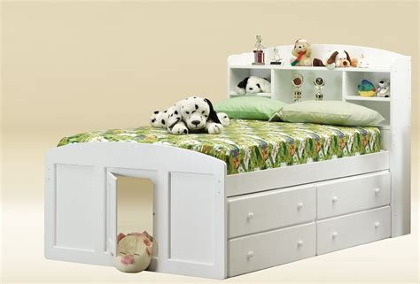 full size white bed frame bedroom white wooden twin size daybed with drawers having