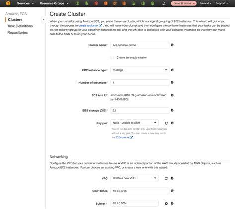 tutorial docker swarm docker orchestrierung mit amazon ecs das tutorial