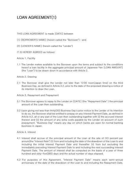 loan agreement template microsoft word templates free and printable microsoft word templates