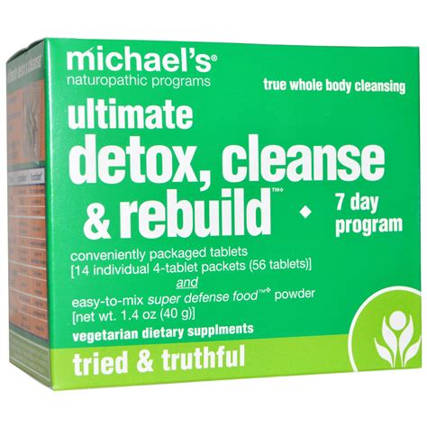 Detox Sorry Bout It by Michael S Naturopathic Ultimate Detox Cleanse Rebuild